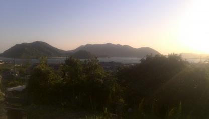 能登原神社から瀬戸内海
